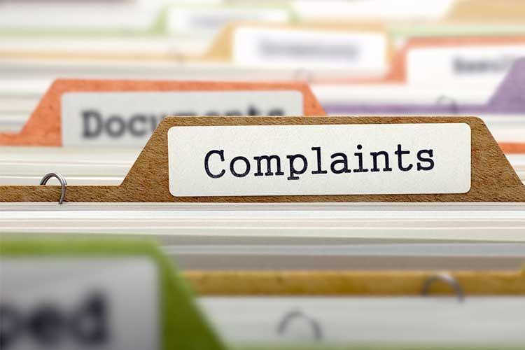 Dealing with complaints in healthcare