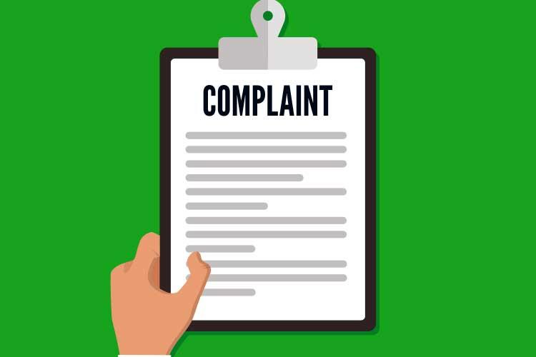 receiving complaints