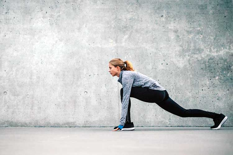 Woman stretching | Image