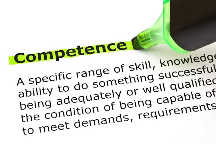 Definition of competence with highlighted text | Image