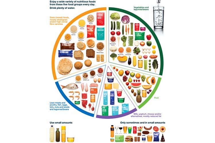 chart of healthy foods for meal planning