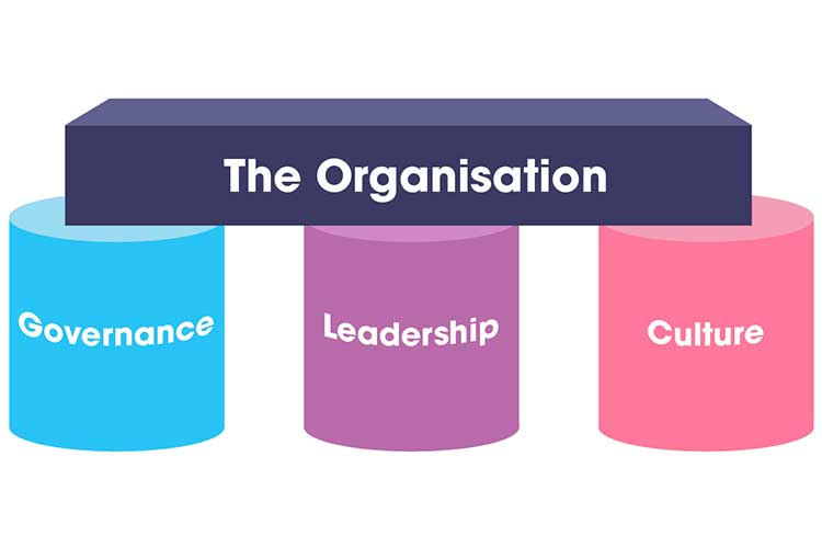 Governance, leadership and culture are the pillars of an organisation