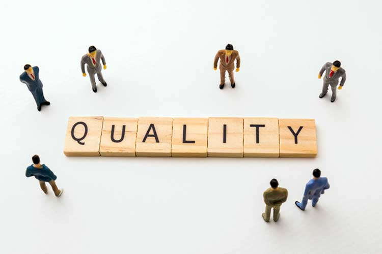 Image of the word 'quality' | Image