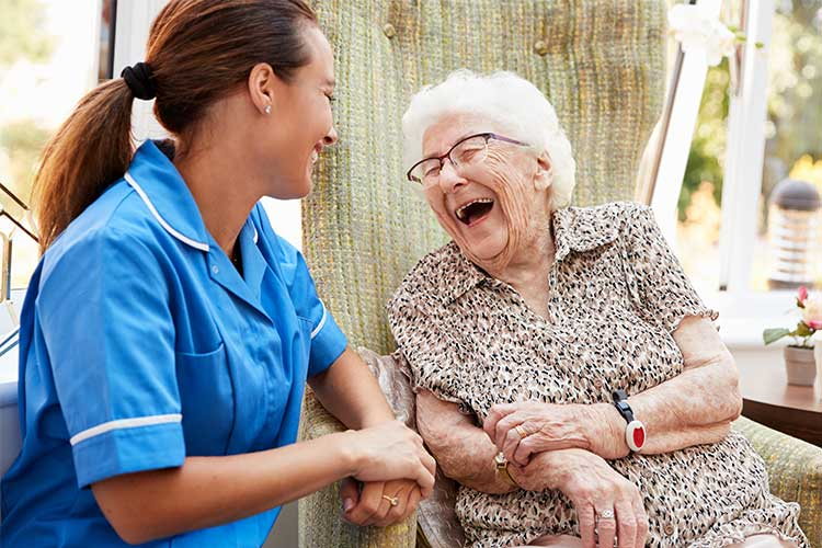 nurses listening