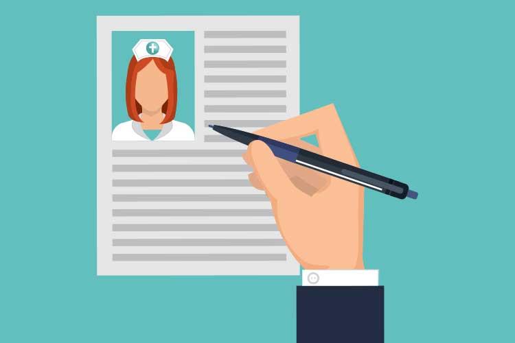nursing candidate resume