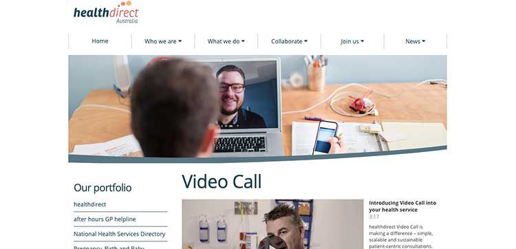 telehealth healthdirect