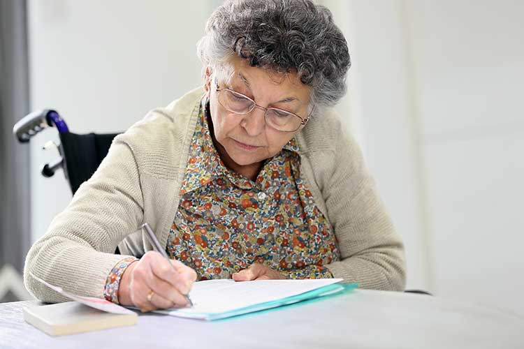 advance care directive writing