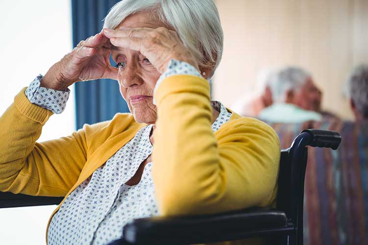 responsible information delivery confused older woman