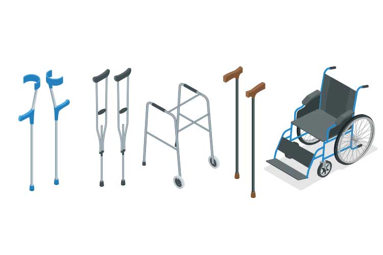 types of mobility aids