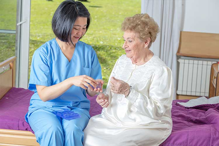 schedule 8 medicines nurse administering medicine