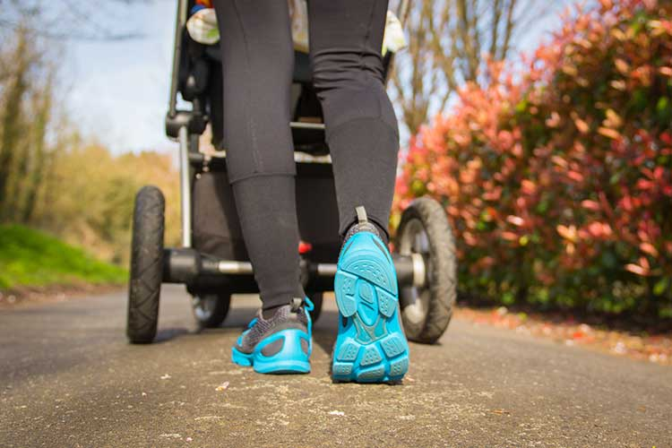 postnatal exercise pram walking