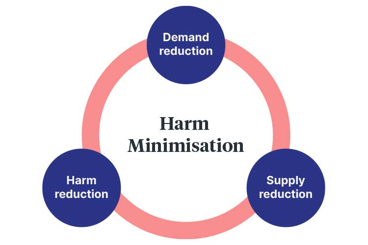 harm reduction pillars of harm minimisation