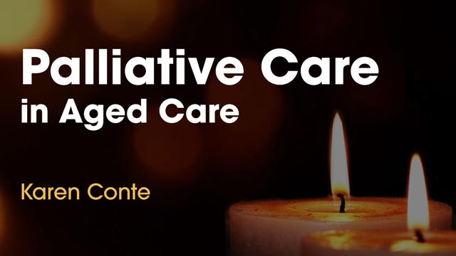 Image for Palliative Care in Aged Care