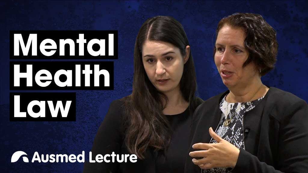 Cover image for lecture: Mental Health Law