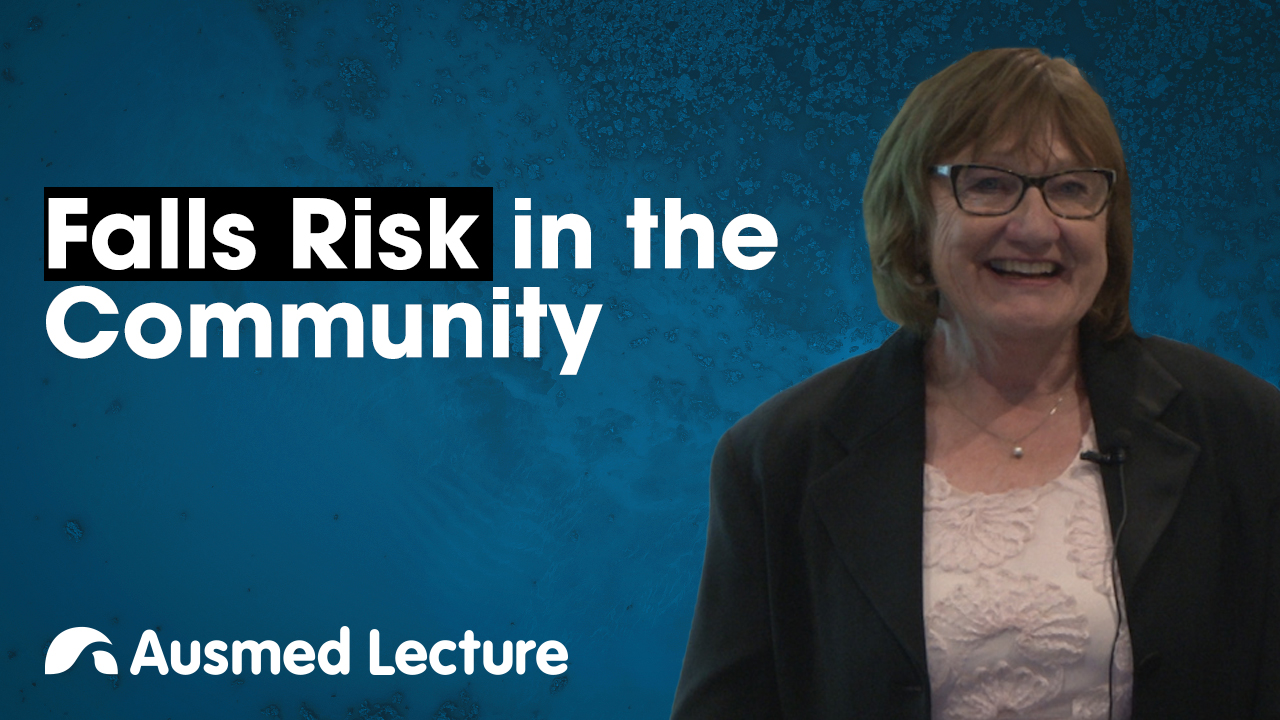Cover image for lecture: Falls Risk in the Community