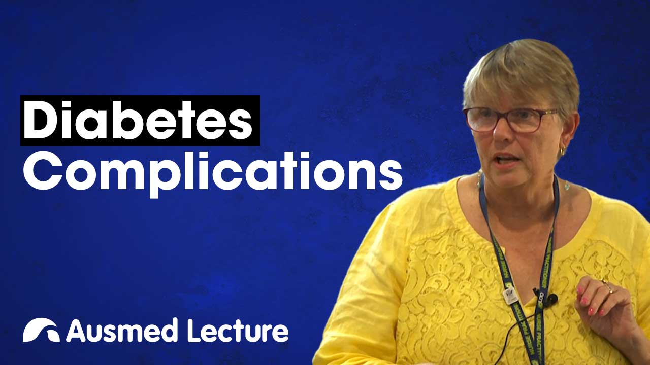 Cover image for lecture: Diabetes Complications
