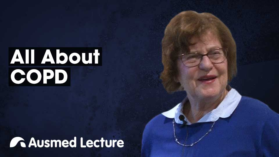 Cover image for lecture: All About COPD
