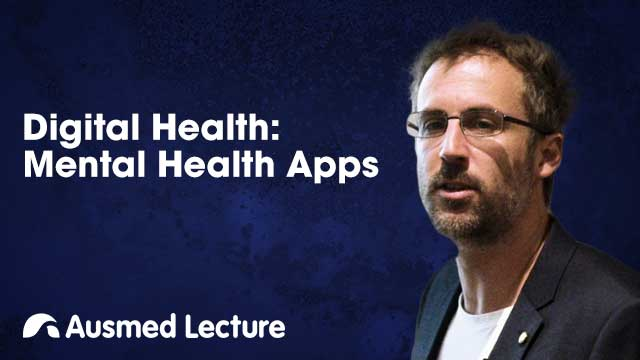 Cover image for lecture: Digital Health: Mental Health Apps