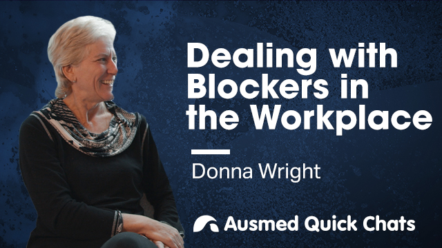 Cover image for lecture: Quick Chats: Dealing with Blockers in the Workplace