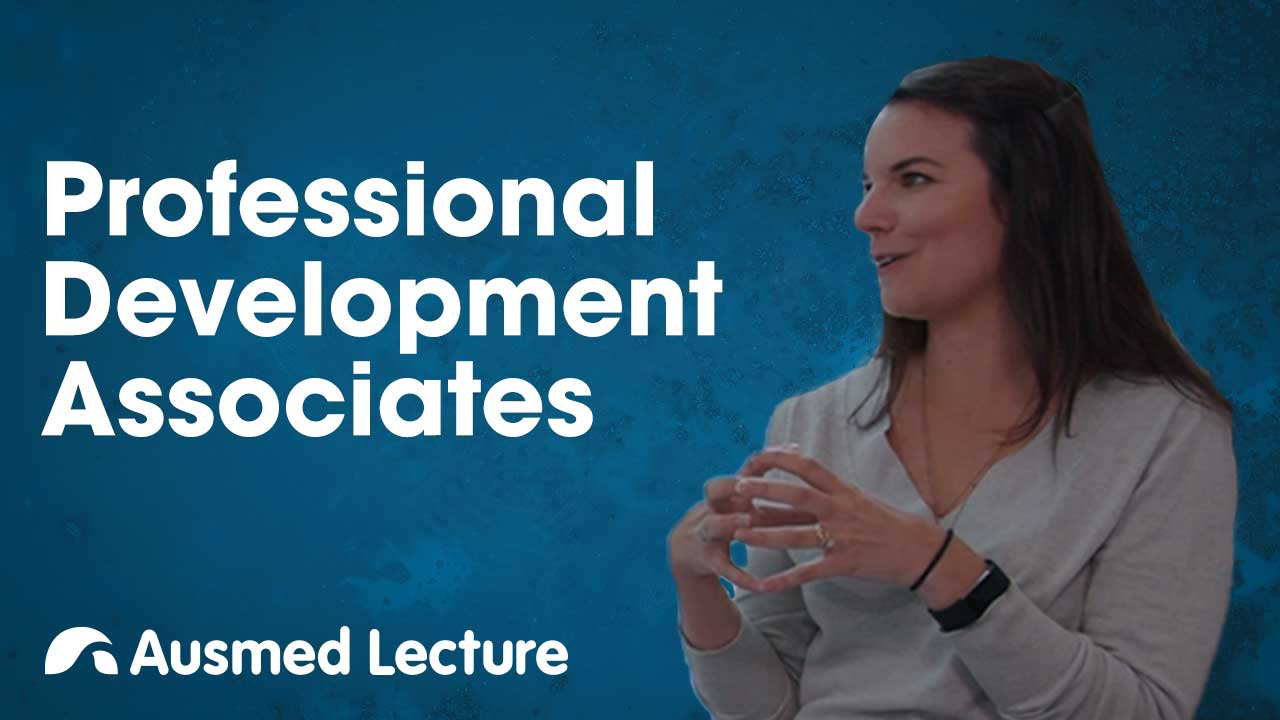 Cover image for lecture: Quick Chats: Professional Development Associates