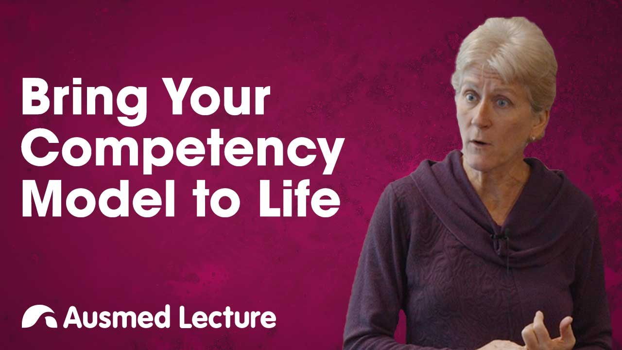 Cover image for lecture: Bring Your Competency Model to Life
