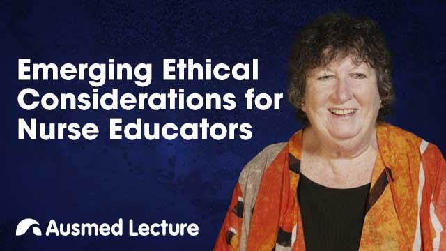 Cover image for lecture: Emerging Ethical Considerations for Nurse Educators
