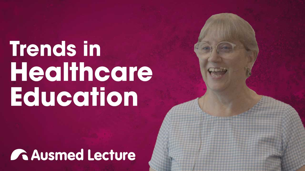 Cover image for lecture: Trends in Healthcare Education and Training