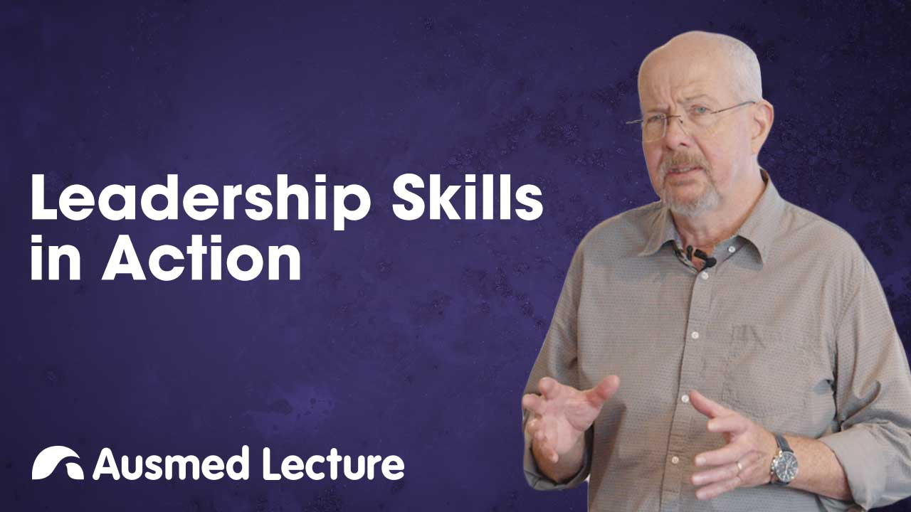 Cover image for lecture: Leadership Skills in Action