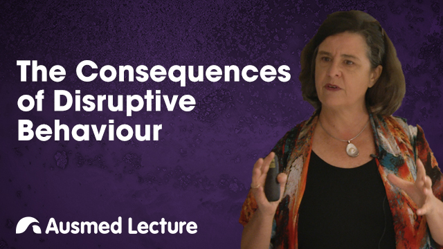 Cover image for lecture: The Consequences of Disruptive Behaviour