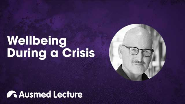 Cover image for lecture: Wellbeing During a Crisis