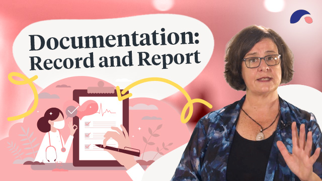 Cover image for lecture: Documentation: Record and Report